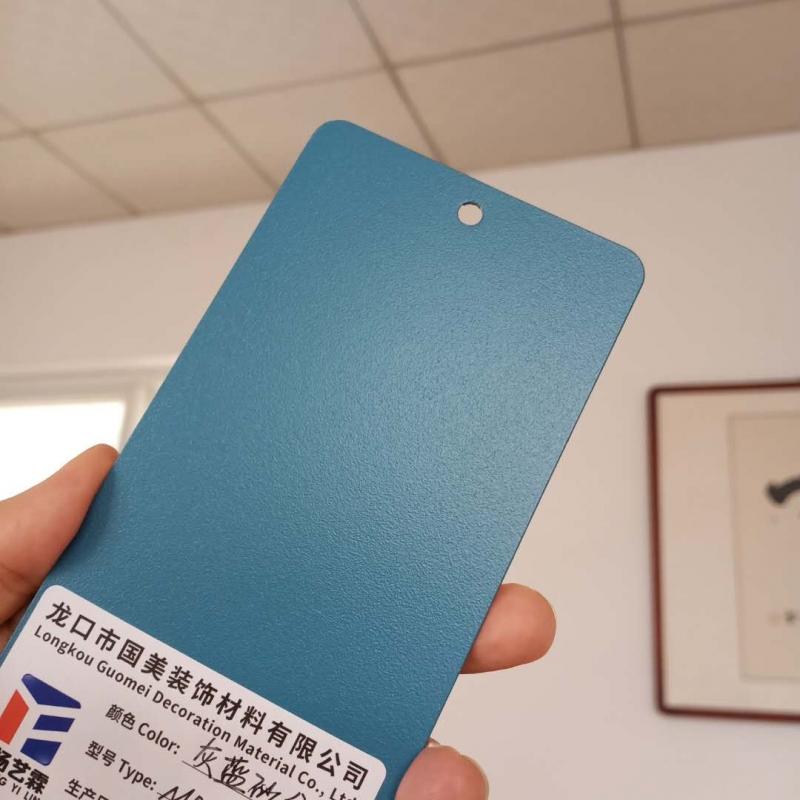 灰蓝砂纹户内静电喷涂塑粉热固型静电粉末生产厂家