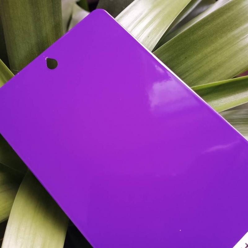 优质静电喷塑粉生产厂家紫色高光静电塑粉生产厂家